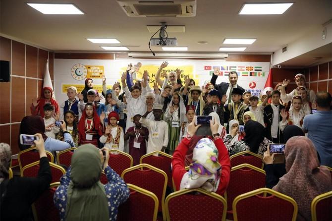 15 ülkeden 50 yetim İstanbul'da buluştu