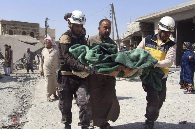 Civilians die in Idlib: UN