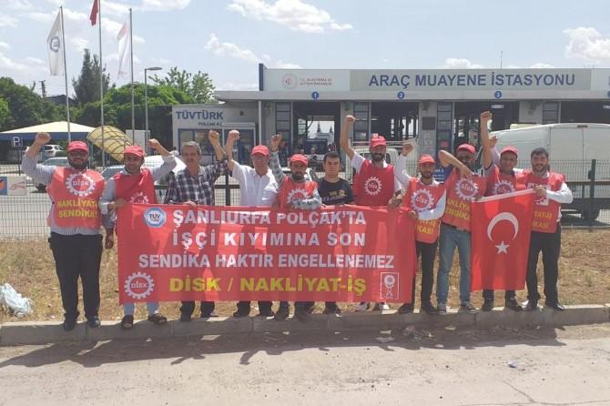 Şanlıurfa'da İşten çıkarılan işçilerin eylemi 185 gündür sürüyor