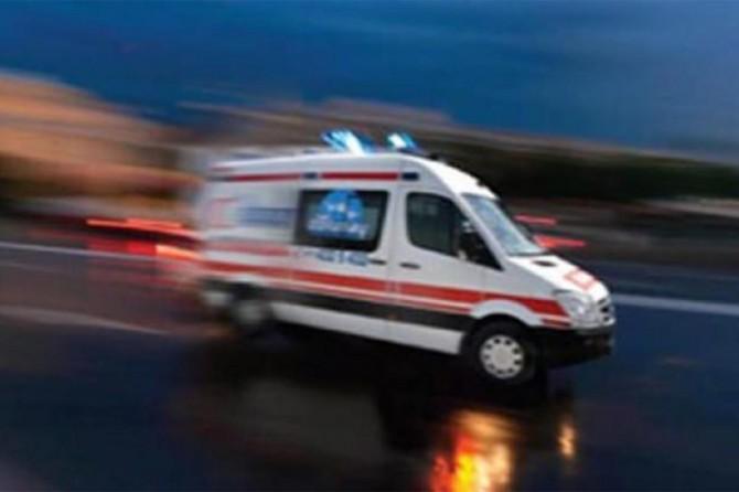 Bodrum'da jandarma aracı devrildi: 4 asker yaralı