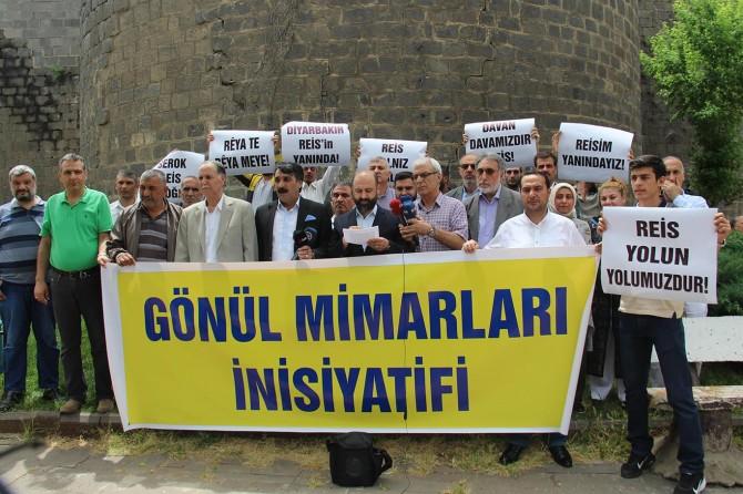 Diyarbakır'da Gönül Mimarları İnisiyatifinde kurulması muhtemel partiye tepki