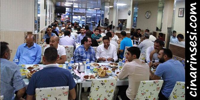 Çınar Eğitim Bir-Sen temsilciliği iftar yemeği verdi
