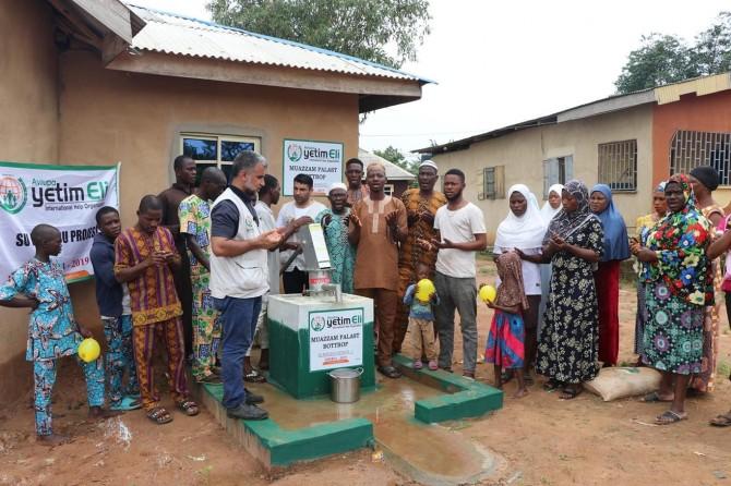Avrupa Yetim Eli Afrika'da su kuyularının açılışını yaptı