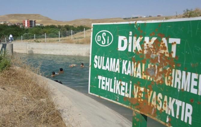 Diyarbakır'da DSİ boğulma vakalarına karşı uyardı