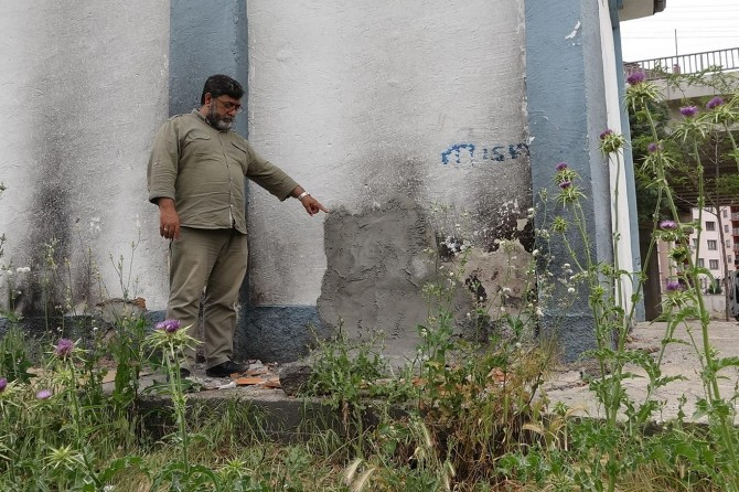 Diyarbakır Batıkent mevkiinde trafodan parça çalan hırsızlar mahalleliyi mağdur etti