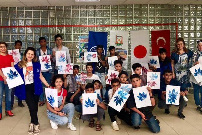 Türkiyeli ve Suriyeli çocuklar Harran Çocuk Üniversitesi'nde buluştu