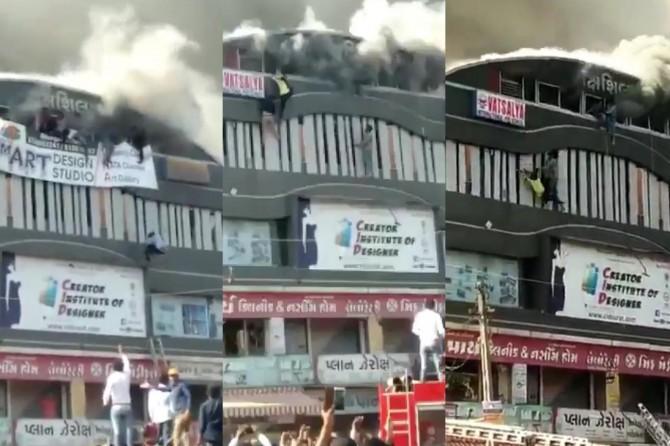 Hindistan'da yangın: 15 ölü