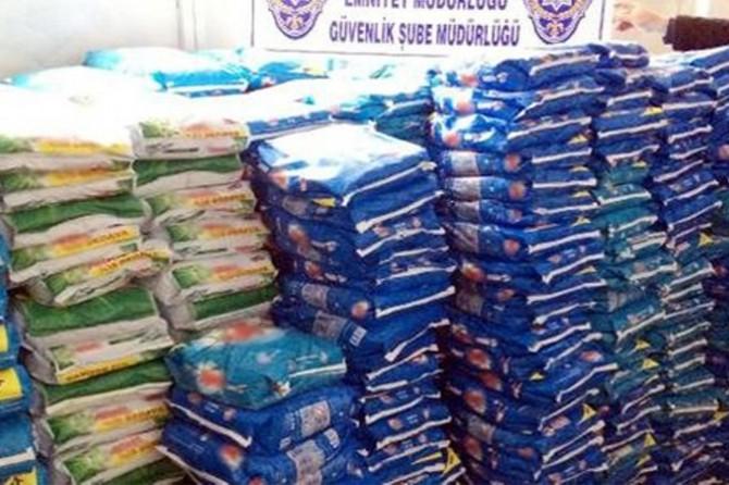 Gaziantep'te 21 ton sahte deterjan ele geçirildi