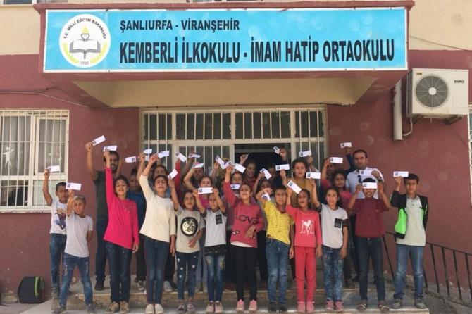 Viranşehir Kemberli İmam Hatip Ortaokulu öğrencileri Mars'a isimlerini gönderecek