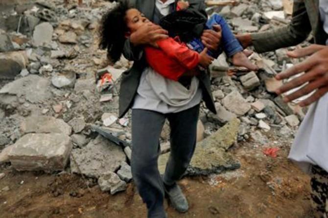Koalîsyona Siûdî êrîş bir li ser Yemenê: 4 jê zarok 13 hatin qetilkirin