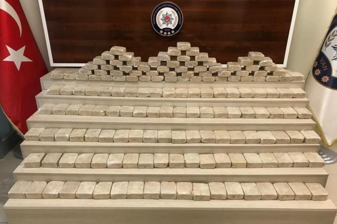Van Tuşba'da organların içerisinde 81 kilo eroin ele geçirildi