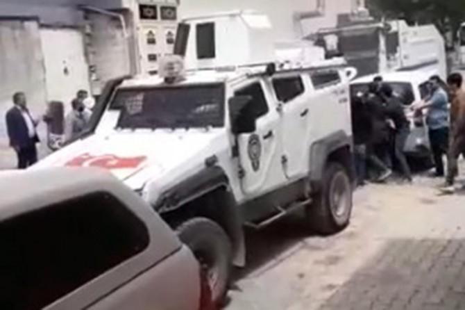 Viranşehir'de DEDAŞ'ın alt yapı çalışmasında gerginlik çıktı