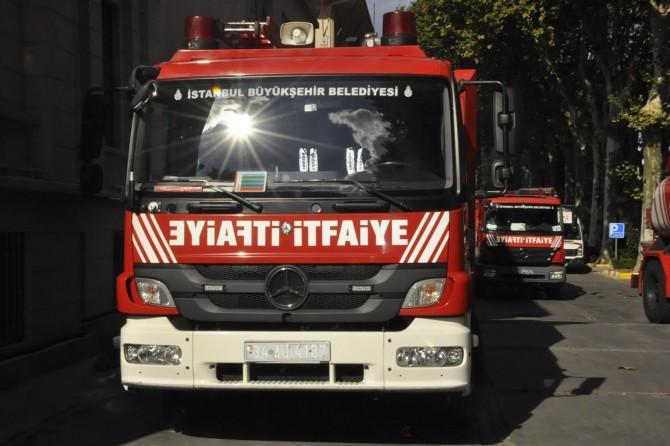 İstanbul Fikirtepe'de yangın