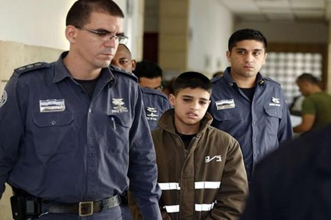 Siyonîstên terorîst ji sala 2000î vir ve 16 hezar û 500 zarokên Filistînî êsîr girtin