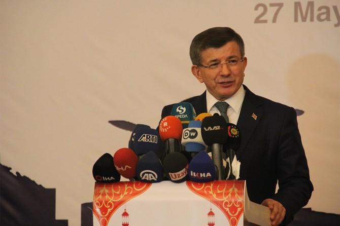 Davutoğlu: Türk'lerin ve Kürd'lerin meseleleri ortaktır