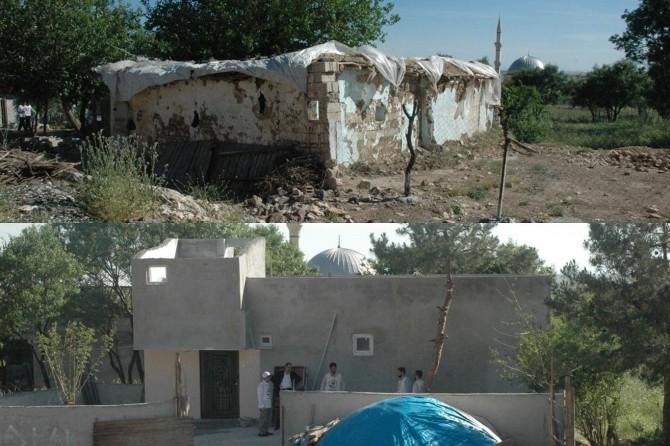 Yetimler Vakfından Silvan'da mağdur aileye yeni ev yardımı