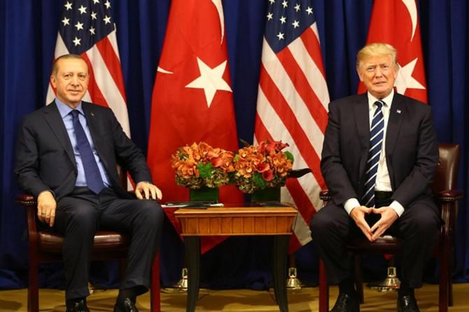 Cumhurbaşkanı Erdoğan ile Trump S-400'ü görüştü