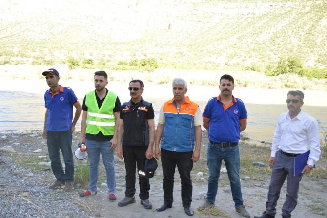 Siirt'te boğulma vakalarının önüne geçmek için motorize ekipler iş başında