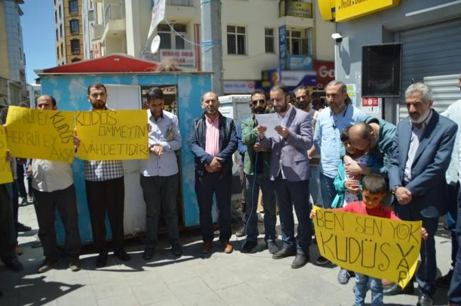 Ağrı'da Dünya Kudüs günü açıklaması