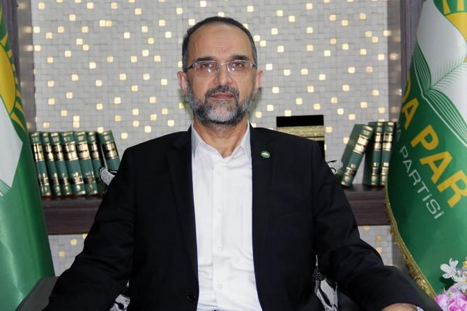 HÜDA PAR Genel Başkanı Sağlam'dan Ramazan Bayramı mesajı