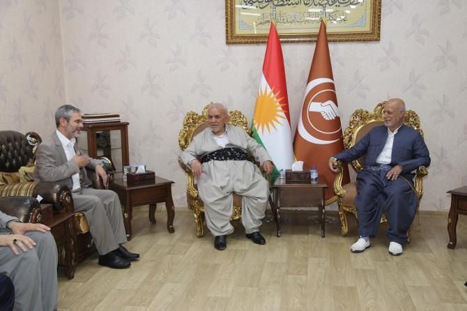 HÜDA PAR'dan Kürdistan'daki siyasi partilere bayram ziyareti