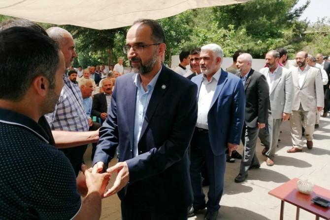 HÜDA PAR Genel Başkanı Sağlam'dan Halilan Aşireti'ne taziye ziyareti