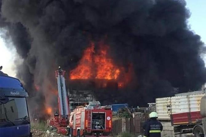 Çayırova'daki fabrika yangınında 4 ölü 5 yaralı
