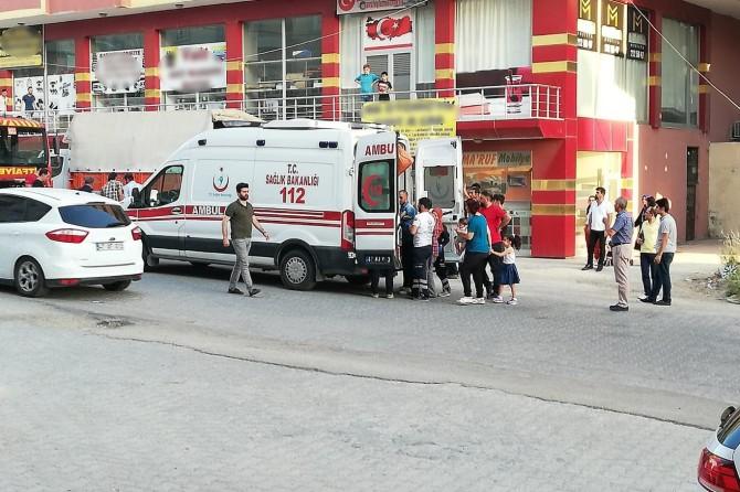 Artuklu'da trafik kazası: 1 yaralı