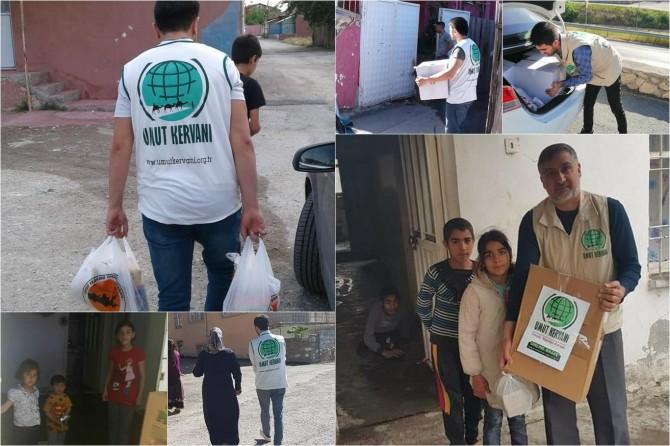Malatya Umut Kervanı Ramazan ayında umut oldu