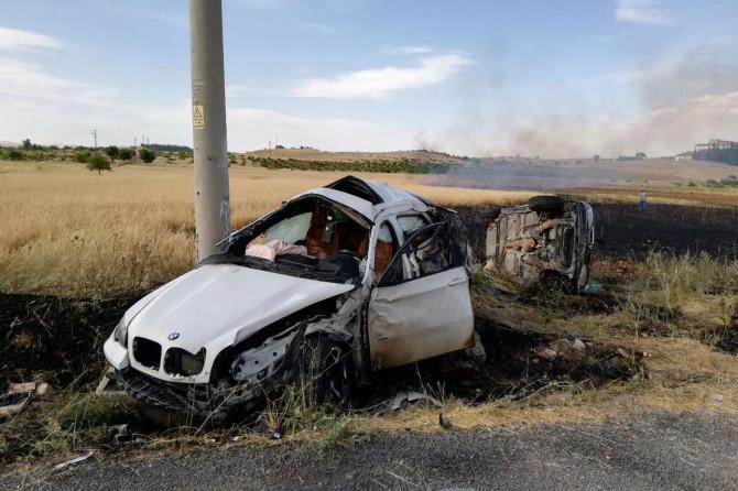 Midyat'ta kaza: 2'si ağır 6 yaralı