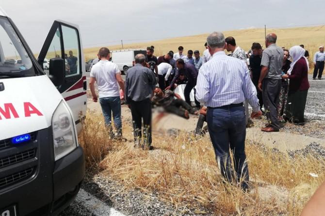 Silvan'da kaza: 1 ölü, 2'si ağır 6 yaralı