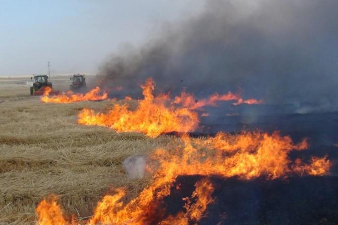 Çiftçilere anız yangını uyarısı