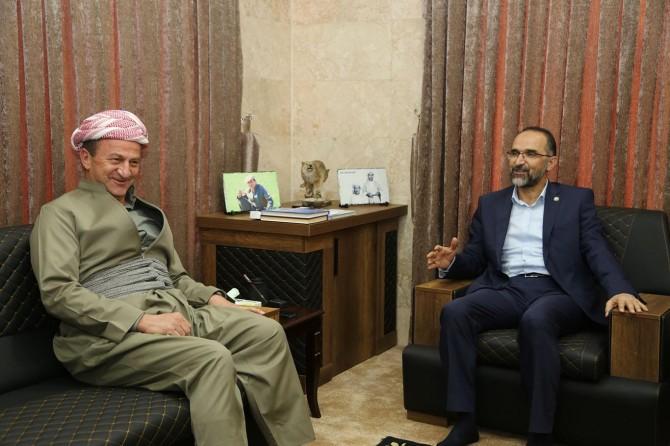 HUDA PAR President Sağlam visits Sheikh Ethem Barzani