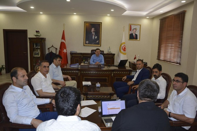 Viranşehir'de YKS koordinasyon kurulu toplantısı yapıldı