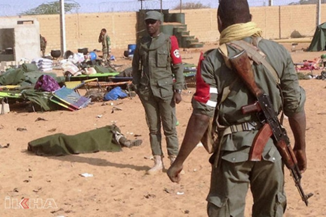 At least 100 killed in an attack on a village in Mali
