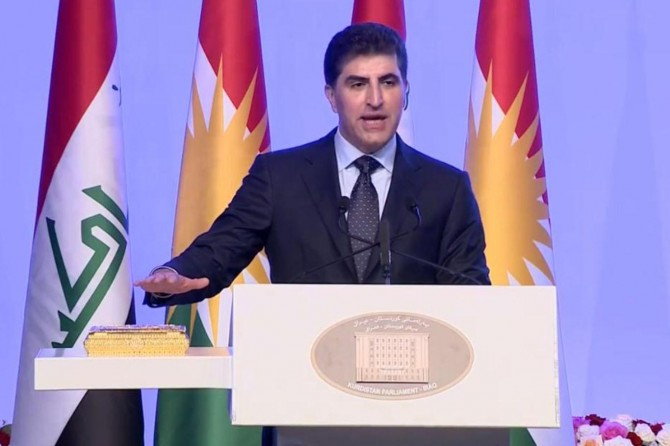 Nechirvan Barzani swears as new President of Kurdistan Region