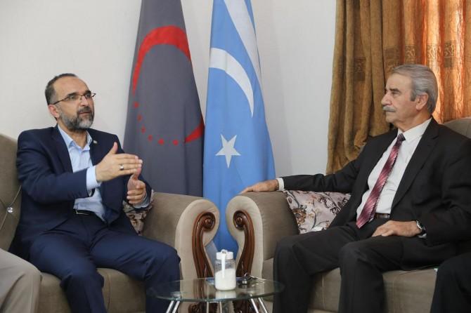 HUDA PAR President meets Turkmens in Iraqi Kurdistan