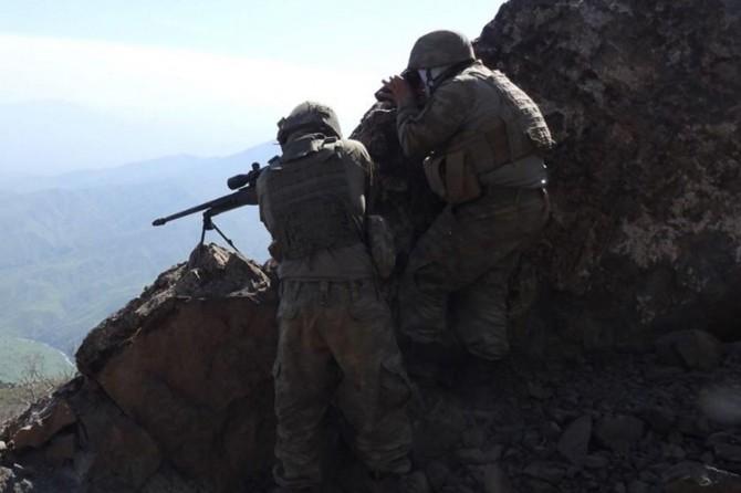 Tunceli'de 2 asker hayatını kaybetti