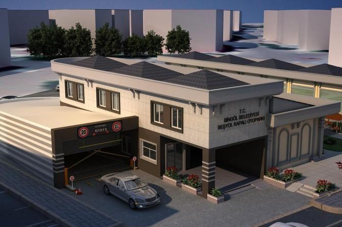 Bingöl'de katlı otopark projesine start veriliyor