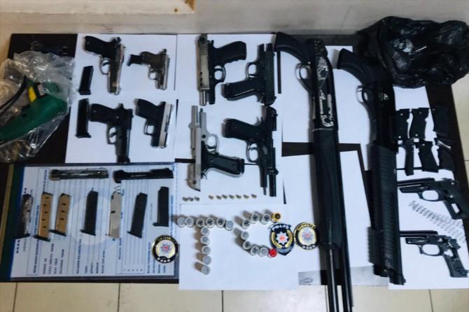 Asayiş operasyonlarında 66 tutuklama