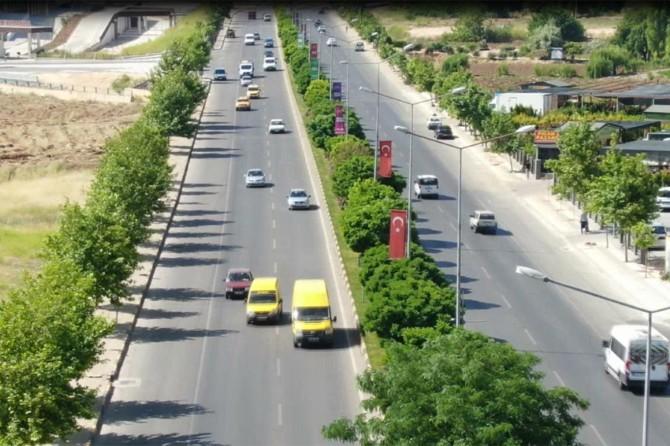 Gaziantep'te havadan trafik denetimi yapıldı