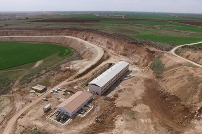 Viranşehir pompaj sulamasında çalışmalar sürüyor