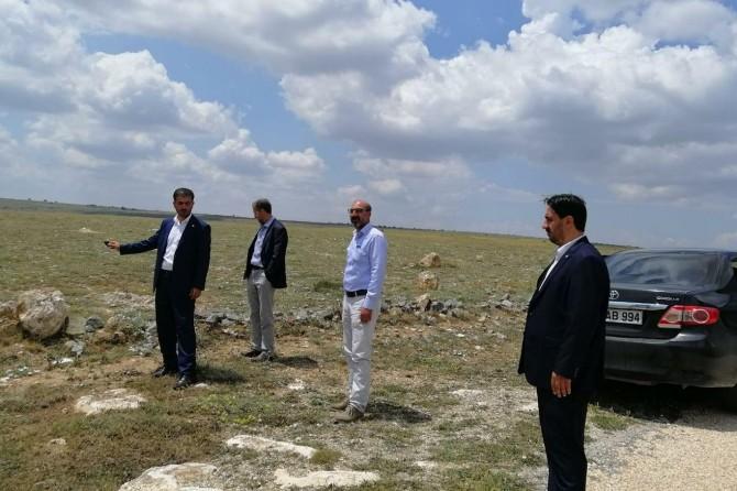 HÜDA PAR Eskişehir İl Başkanlığı hayvanların telef olduğu köyde incelemelerde bulundu