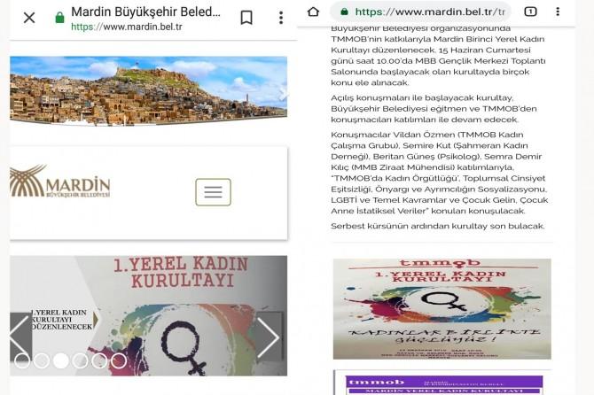Mardin Büyükşehir Belediyesi LGBT etkinliğine desteğini geri çekti