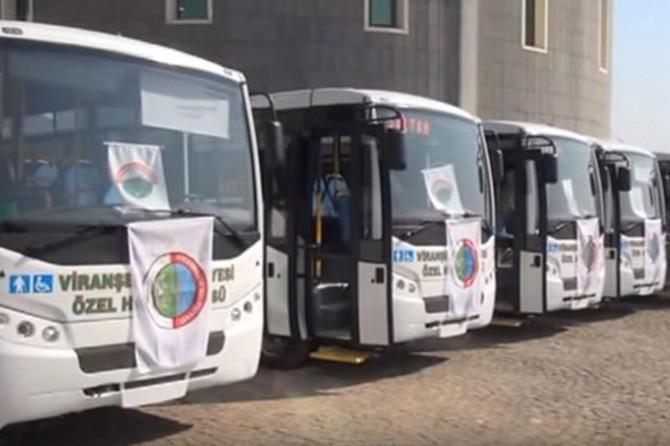 Viranşehir'de YKS'ye girecek öğrencilere ücretsiz ulaşım