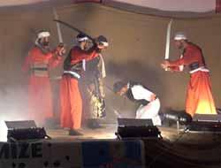 Çermik'te Kerb-u Bela Tiyatrosuna Yoğun İlgi