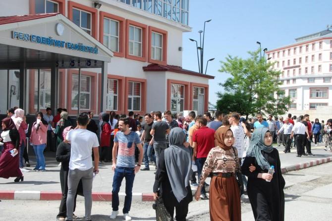 Bitlis'te YKS heyecanı başladı