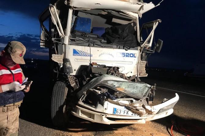 İdil'de kamyon kazasında 1 ölü