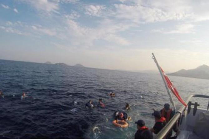 Göçmen teknesi battı: 9 kişi kayıp, 31 kişi kurtarıldı