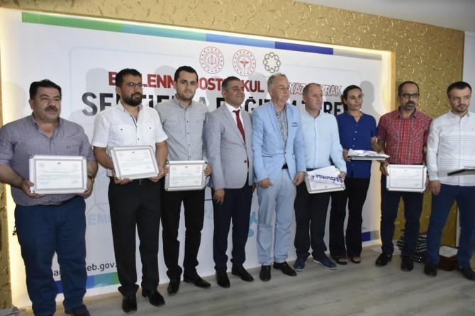 Mardin'de 133 okula Beyaz Bayrak verildi